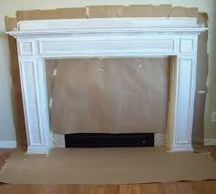 how to paint your mantle