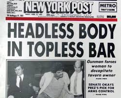 Related to tabloid examples for students. Best Tabloid Headlines Ever