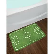 soccer field rug east urban home teen room soccer field grass motif stadium game match winner