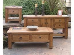 Sunny Designs Rustic Oak Sedona Coffee Table