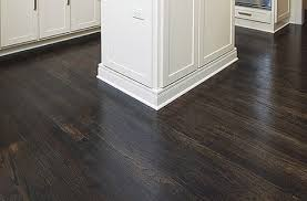 Decoration Dark Brown Wood Flooring With Diy Homemade Hardwood Floor