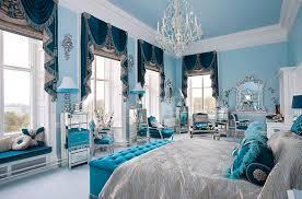 Blue master bedroom design Retro Blue Elegant Blue Master Bedroom Home Design Interior Decoration Elegant Blue Master Bedroom Home Design Interior Decoration