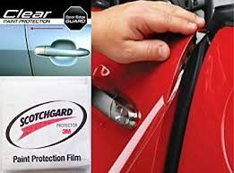 door protector film edge pre cut guard scratch 3m scotchgard protection film clear invisible universal