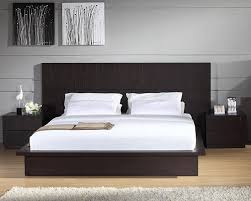 contemporary bedroom furniture. Contemporary Platform Bed Dresser And Chests Modern Simple Bedroom Furniture T