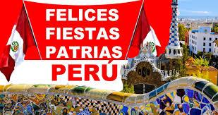 Afbeeldingsresultaat voor fiestas patrias peru