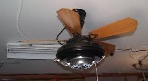 Antique Art Deco Ceiling Fan Vintage Robbins U0026 Myers Springfield Ohio 1930u0027s