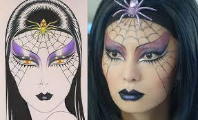 makeup tutorial spider woman makeup by kabuki u2016 makeup for life