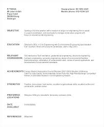 Student Resume Samples Beauteous Resume Samples Civil Engineering Students Fruityidea Resume
