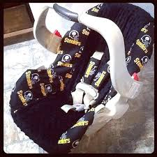 steelers car seat covers cover yes please auto nfl steelers car seat covers baby