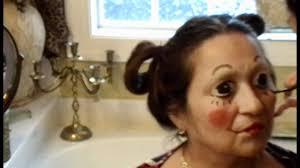 raggedy ann makeup transformation