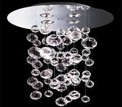 60cm murano due bubble glass chandelier suspension light intended for stylish residence glass bubble light chandelier designs
