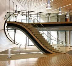 Staircase Railing Ideas 22 modern & innovative staircase ideas home and gardening ideas 2977 by xevi.us