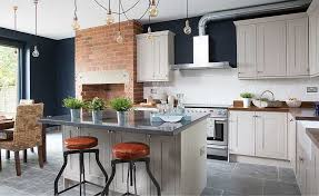 industrial style kitchen lighting. industrial style kitchen extractor fan and pendant lights lighting n