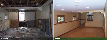 basement remodels before and after. Finished Basements By AvidCo DuPage County Area Basement Remodels Before And After L