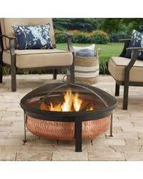 better homes and gardens fire pit. Shining Better Homes And Gardens Fire Pit Holiday Sale 30 Copper Hammered R