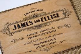 real wood wedding invites from the paper paramour invitation crush Real Wood Wedding Invitations vintage poster style wood wedding invites the paper paramour real wood wedding invitations custom