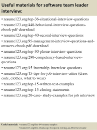 interview questions team leader team leader resume examples examples of resumes