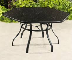 wilson fisher aspen hexagon painted glass top dining table for wilson fisher 48 round