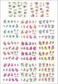 Printable Nail Art Decals images