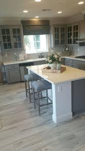 wood floor tile in kitchen tiles grey wood look tile kitchen gray floor inside dimensions