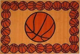 basketball area rug large court