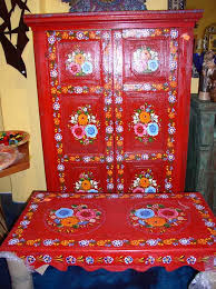 painted mexican furnitureMexican Painted Furniture  Que Chula Style Mexican Goods ABQ