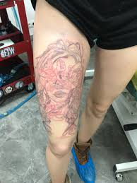 немного отлечемся от глиныв этом году татуировка