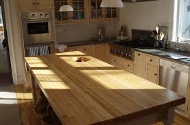 kitchen oak butcher block laminate island countertop white wood maple ideas pictures medium