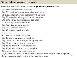 Sample Resume Questions Inspiration Top 48 Military Interview Questions With Answers Pdf