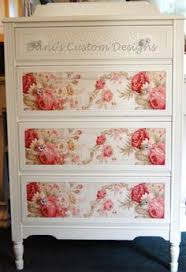 how to wallpaper furniture. cottage chic dresser with roses by daniscustomdesigns she does very cool style furniture w floral paper and embossed papers i definitely could how to wallpaper f