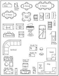 furniture  drawings and templates on pinterestfree printable furniture templates   furniture template