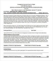 Permission Slip Templates 9 Free Word Pdf Documents