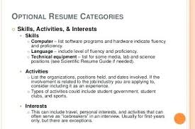 Interests On Resume New Example Of Interests On Resumes Kenicandlecomfortzone