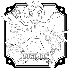 Small Picture Digimon coloring pages Coloring Digimon pages Pinterest Digimon