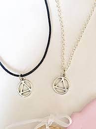 recovery necklace aa sobriety new aa