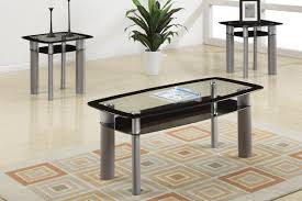 Coffee Table Set Of 3 3 Pc Poundex Coffee Table End Table Set F3091 Savvy Discount