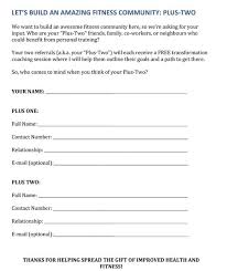 Fitness Assessment Form Simple The Ultimate Guide To Personal Trainer Forms The TotalCoaching Blog