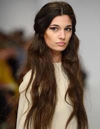 Coiffure Cheveux Longs Ondul S Hiver 2016 Cheveux Pinterest