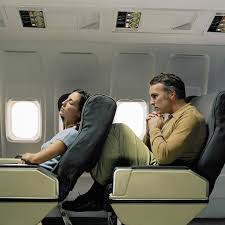 reclining airline seats bring out anger