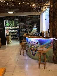 juice bar at clorofila green vegan in playa del carmen