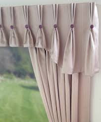 Shaped Pinch Pleat Curtain Valance with Buttons | C u r t a i n ...