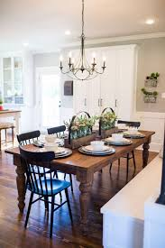 fixer upper season 3 chip and joanna gaines renovation the nut house kitchen lighting dining room table lighting