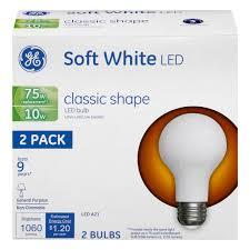save on ge led soft white light bulbs