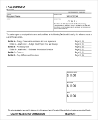 Sample Personal Loan Agreement 11 Examples In Word Pdf