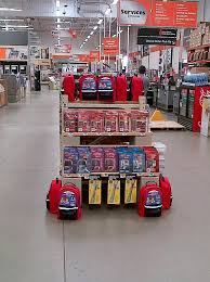 aisle display home depot anaheim santa ana garden grove ca nov