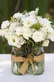 Mason Jar Table Decorations Wedding Mason Jar Ideas using flowers 100 Gorgeous DIY's Mason jar 4