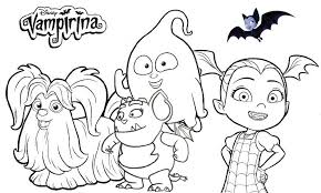 High Quality Vampirina Coloring Pages For Boys And Girls Coloring