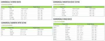 Specialized Frame Size Chart Foxytoon Co