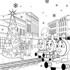 Small Picture Thomas Train Coloring Pages Coloring Coloring Pages
