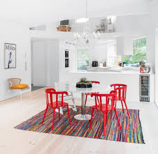 Red White Kitchen Red Kitchen Table Red Kitchen Cabinets Ideas Island Kitchen